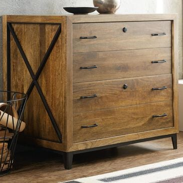 Hooker Furniture Rustique Lateral File in Medium Wood, , large