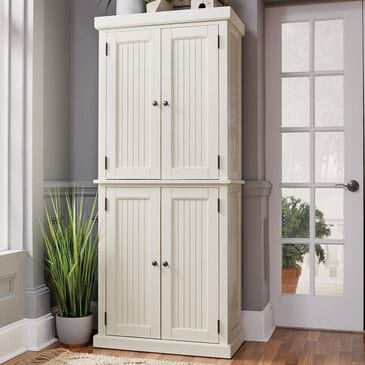 Home Styles Nantucket Pantry in White, , large