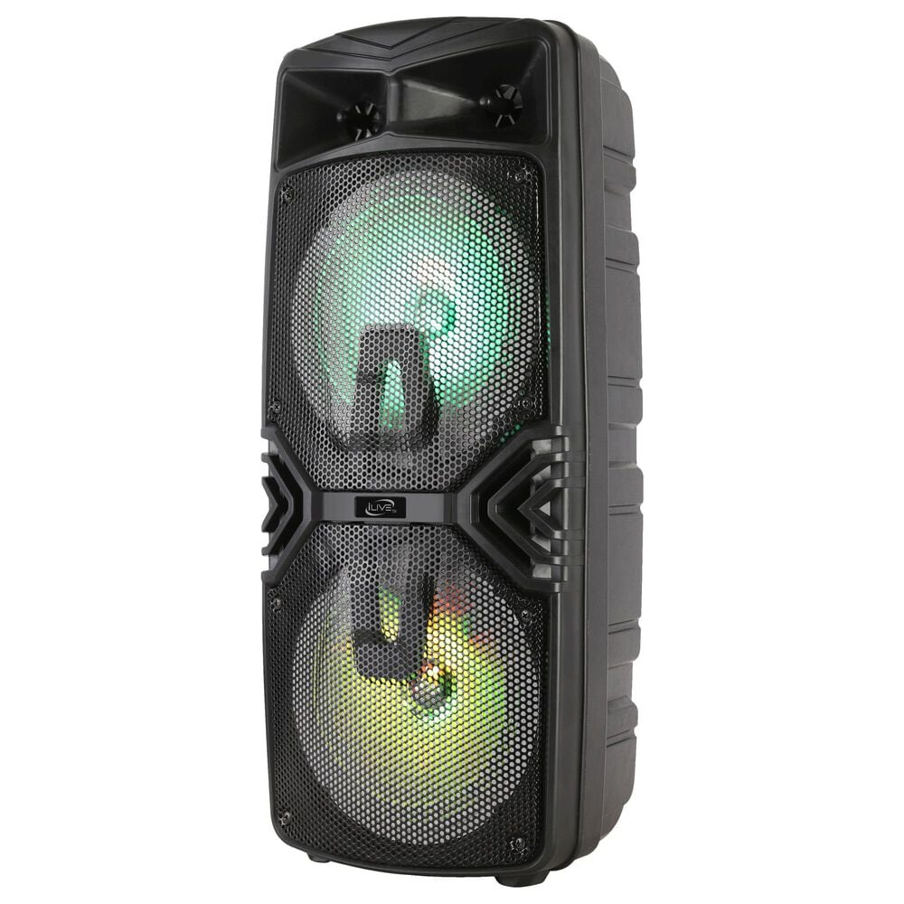 iLive Bluetooth Tailgate Party Speaker in Black, , large