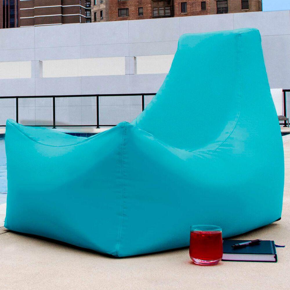 Jaxx Juniper Outdoor Bean Bag Patio Chair in Light Blue, , large