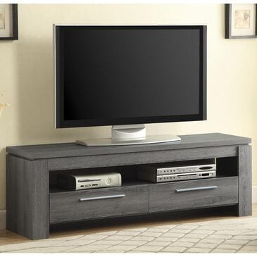 Pacific Landing TV Console in Weathered Grey, , large