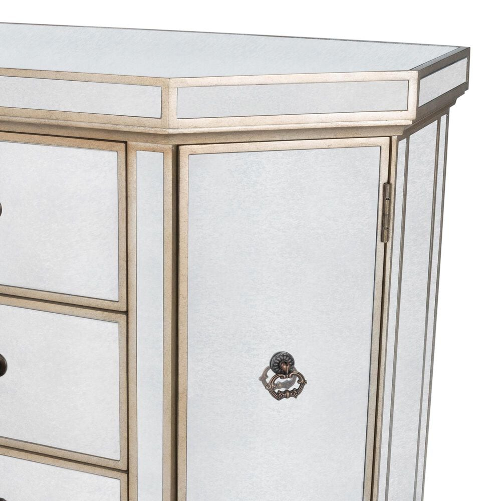 Butler Bethany Console Chest in Silver, , large