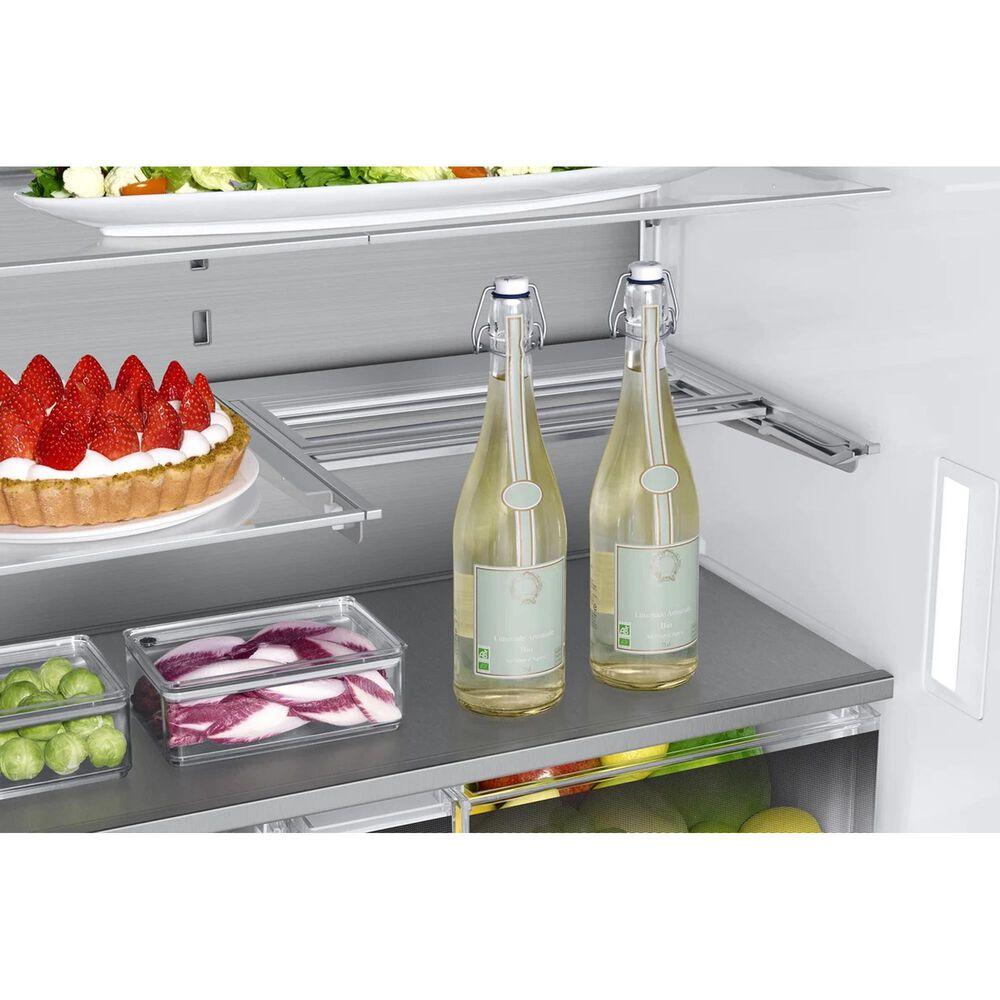 """Dacor 36"""" 4-Door French Door Refrigerator in Graphite Stainless Steel, , large"""