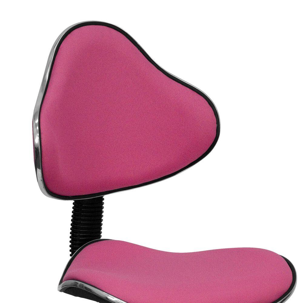 Flash Furniture Swivel Task Chair in Pink, , large