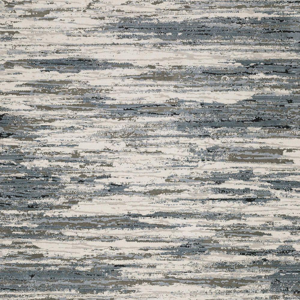 """Oriental Weavers Caravan Faded Brush 6'7"""" x 9'6"""" Beige and Blue Area Rug, , large"""