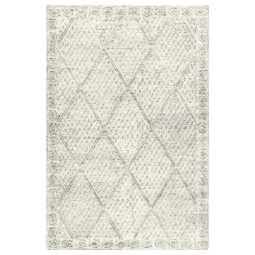 Surya Louvre LOU-2305 2' x 3' Navy, Ice Blue and Cream Scatter Rug, , large
