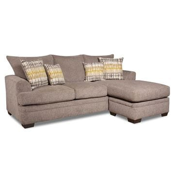Southaven Sofa with Chaise in Perth Pewter, , large