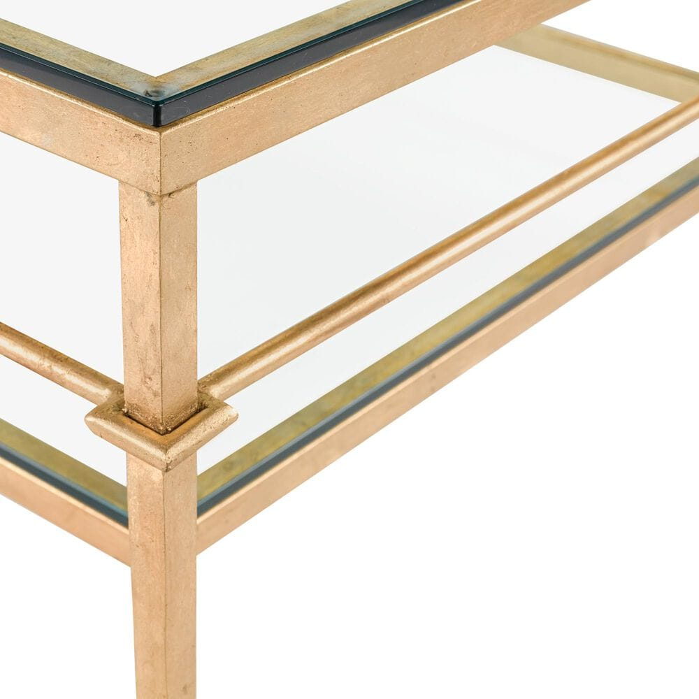 Safavieh Mieka Coffee Table in Gold, , large