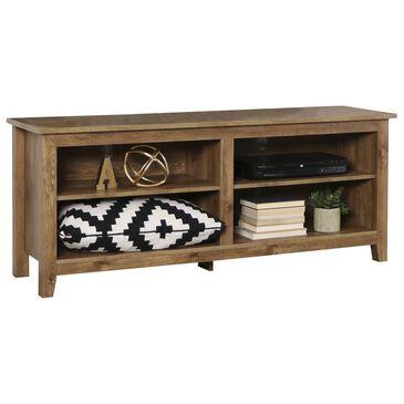 "Walker Edison 58"" Wood TV Stand in Barnwood, , large"