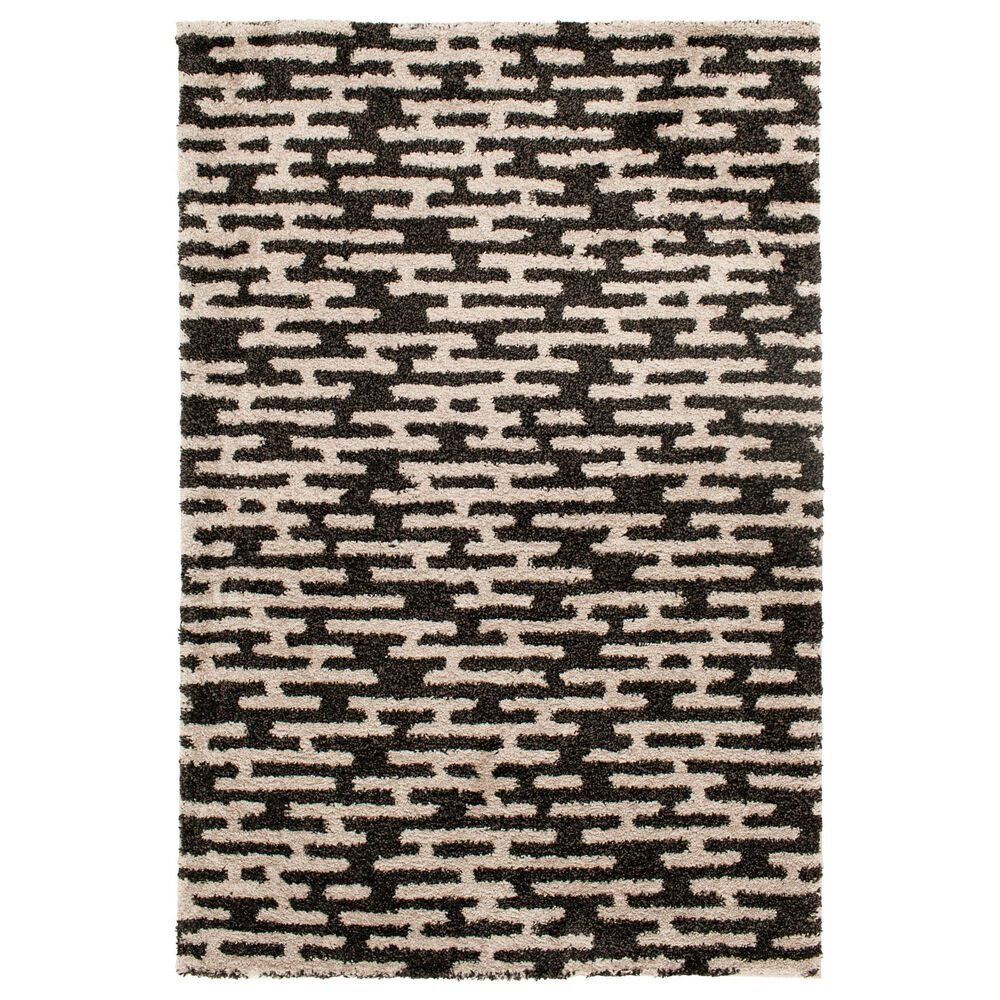 Central Oriental Tulsa Gordie 9863CHN 8' x 10' Iron and Nickel Area Rug, , large