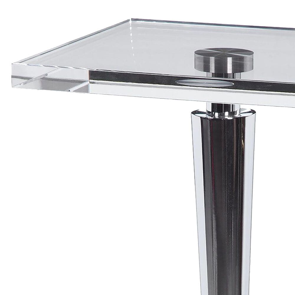 Uttermost Campeiro Drink Table in Chrome, , large