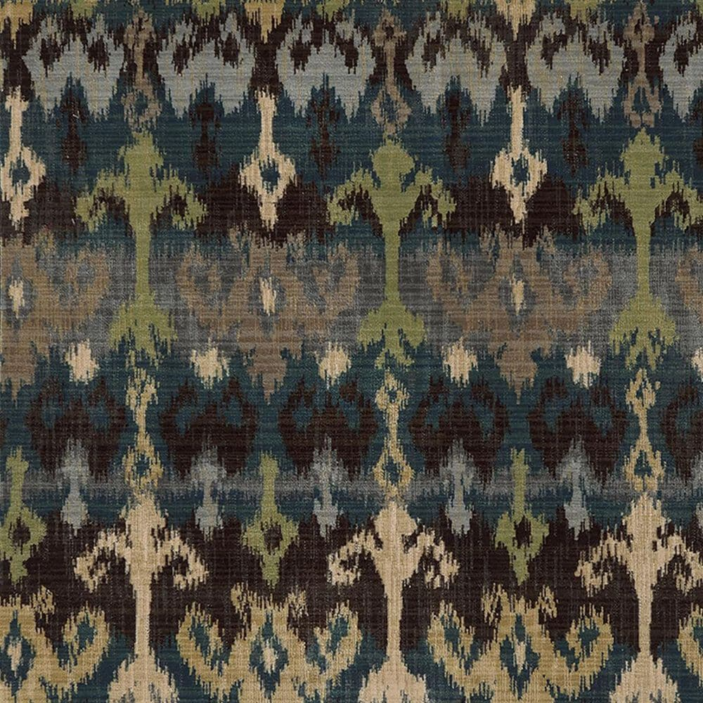 """Oriental Weavers Vintage 8122N 2'7"""" x 9'4"""" Blue Runner, , large"""