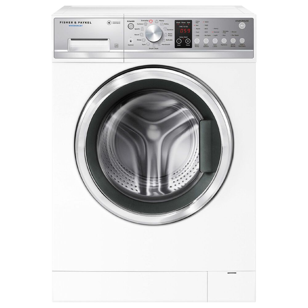 Fisher and Paykel 2.4 Cu. Ft. Front Load Washer with 13 Wash Cycles in White, , large