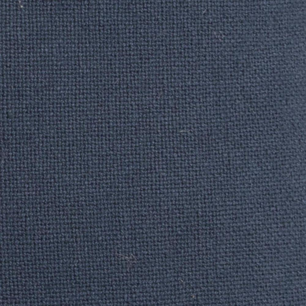 """Rizzy Home 22"""" x 22"""" Pillow Cover in Indigo with Brown Edge, , large"""