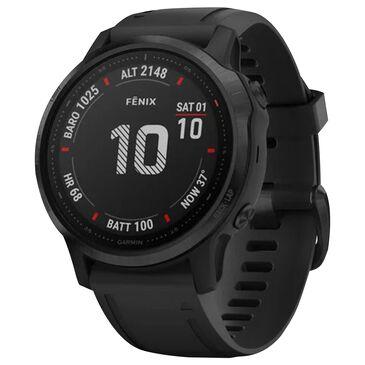 Garmin fenix 6S Pro Smartwatch 42mm Fiber-Reinforced Polymer in Black, , large