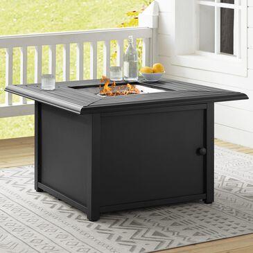Crosley Furniture Dante Fire Table in Black, , large