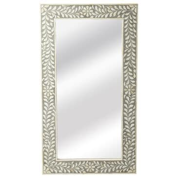 Butler Vivienne Wall Mirror in Gray, , large
