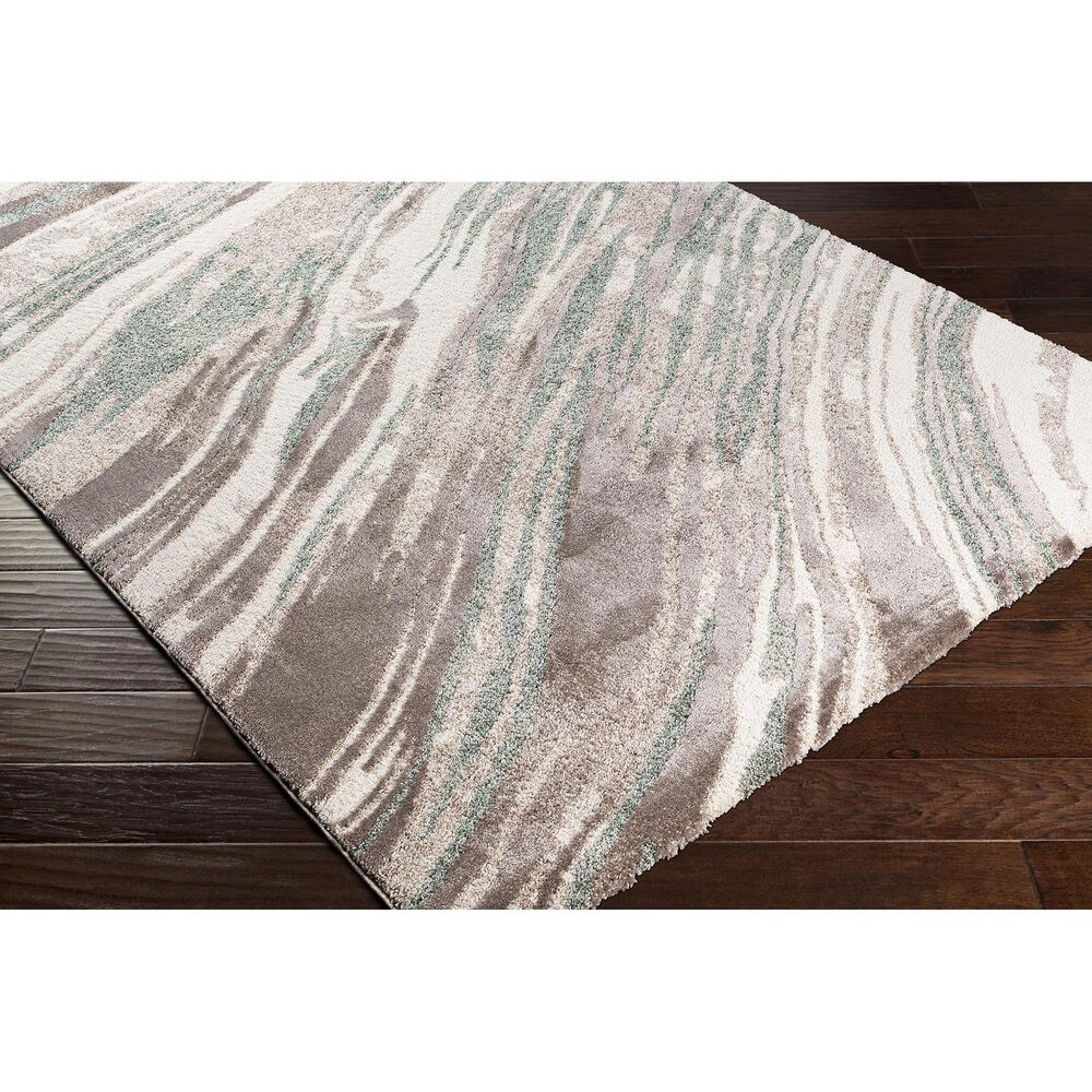 "Surya Cielo 7'8"" x 10' Sage, White, Beige and Camel Area Rug, , large"