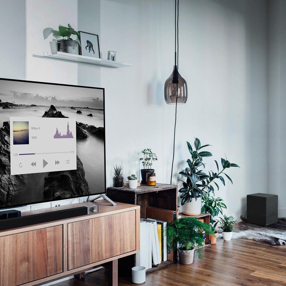 Klipsch 2.1 Channel Soundbar with Wireless Subwoofer in Black, , large