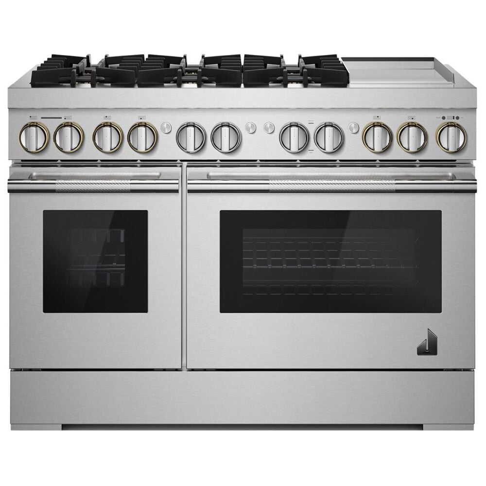 """Jenn-Air Rise 48"""" Professional Range with Gas Grill in Stainless Steel, , large"""