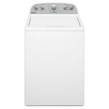 Whirlpool 3.8 Cu. Ft. Top Load Washer with Soil Level Selection in White, , large