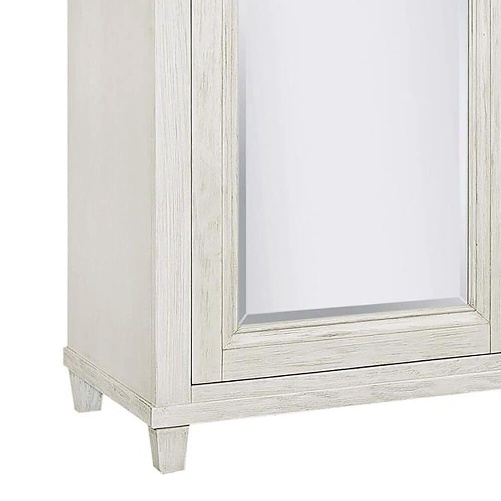 Riva Ridge Caraway Sliding Door Chest in Aged Ivory, , large