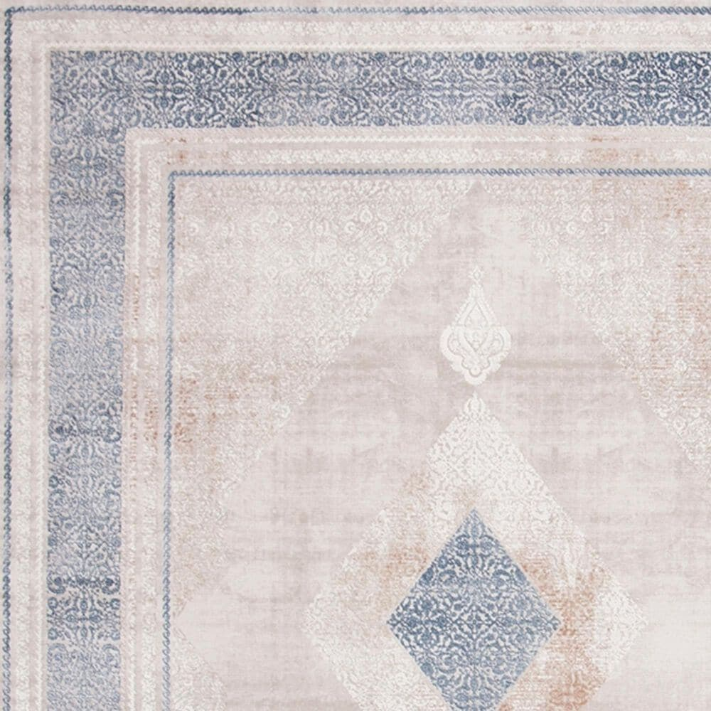 Safavieh Eclipse 9' x 12' Beige and Grey Area Rug, , large