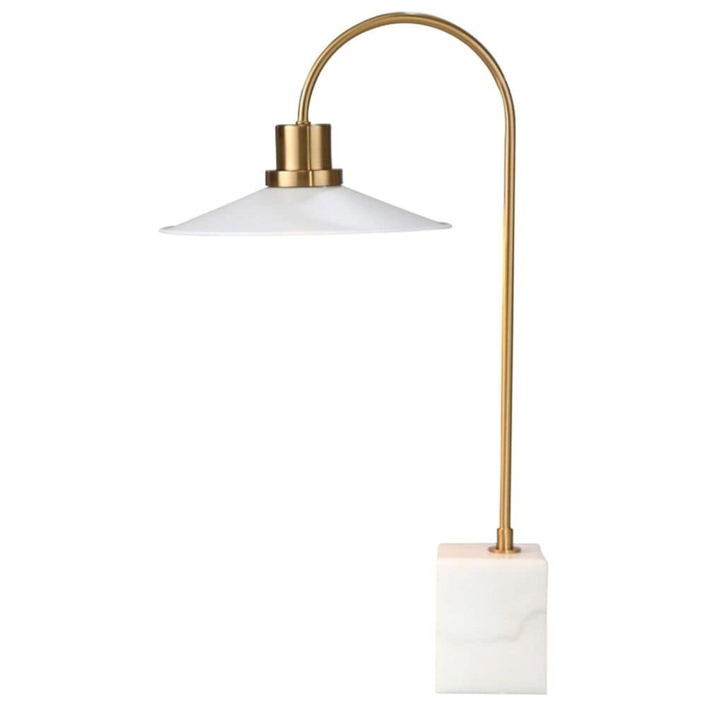 """Sagebrook Home 24"""" Table Lamp in White and Gold, , large"""