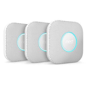 Google Nest Protect Smoke & Carbon Monoxide Alarm (3 Pack) - Battery, , large