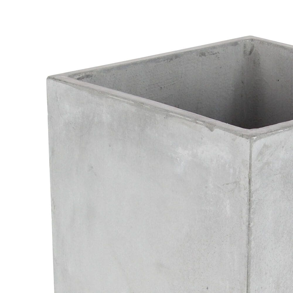 Maple and Jade Assorted Square Planters in Grey (Set of 2), , large