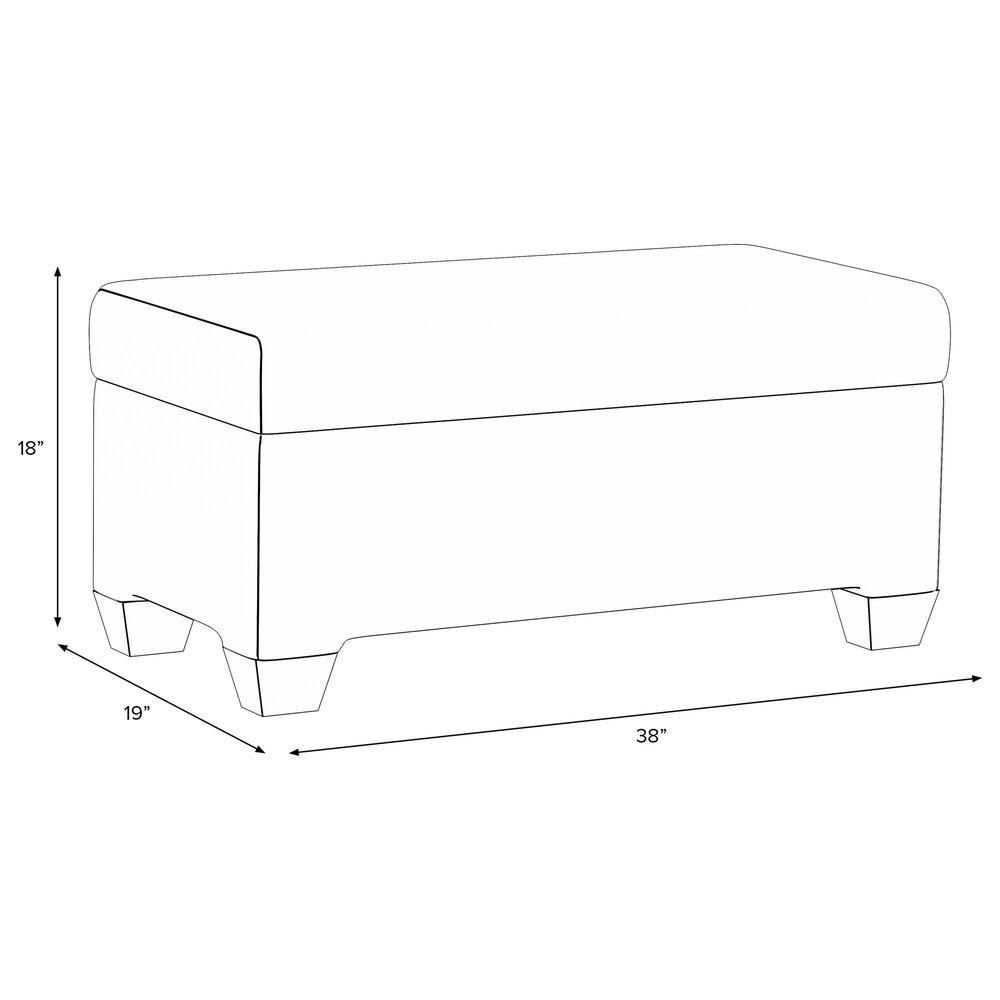 Skyline Furniture Storage Bench in Elaine Floral Ink, , large