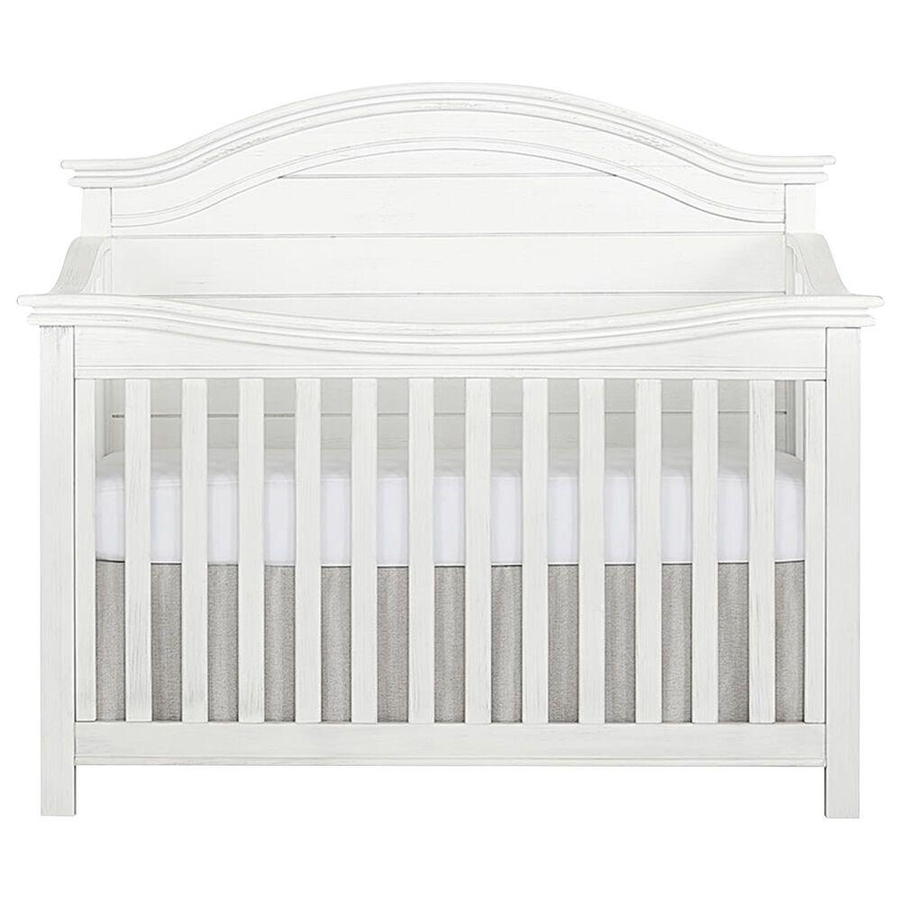 Evolur Belmar 3 Piece Nursery Set in Weathered White, , large