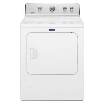 Maytag  7.0 Cu Ft Electric Dryer in White , , large