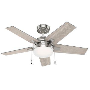 """Hunter Bartlett 44"""" Indoor Ceiling Fan in Brushed Nickel, , large"""