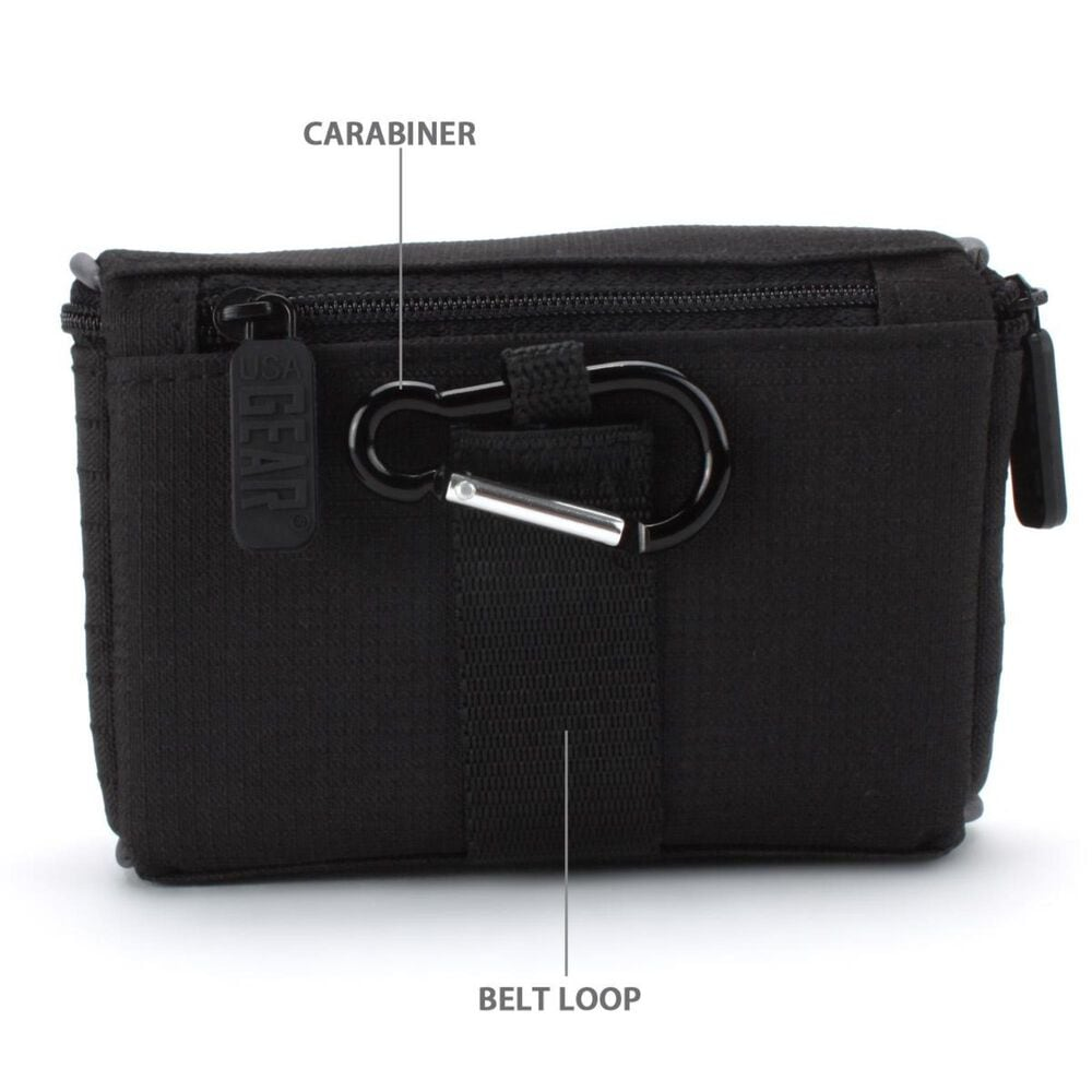 USA Gear Digital Camera Protector Case with Impact-Resistant Nylon, , large