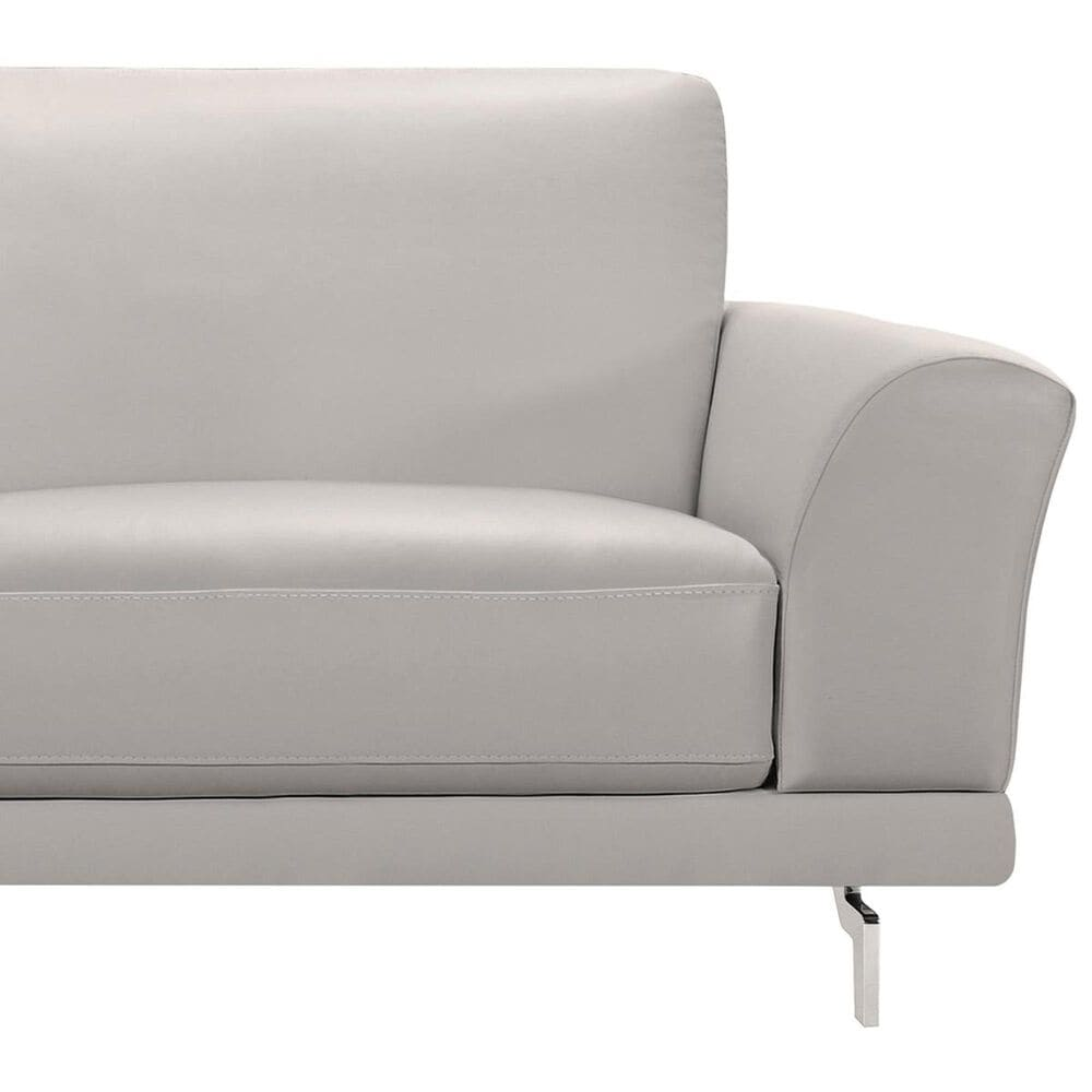 Blue River Everly Sofa in Dove Gray and Stainless Steel, , large