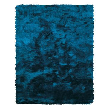 """Feizy Rugs Indochine 4550F 7'6"""" x 9'6"""" Teal Area Rug, , large"""