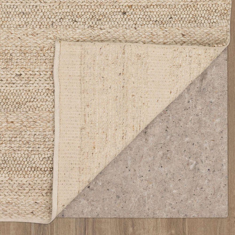 Karastan Tableau RG182-925 4' x 6' Roma Oyster Area Rug, , large