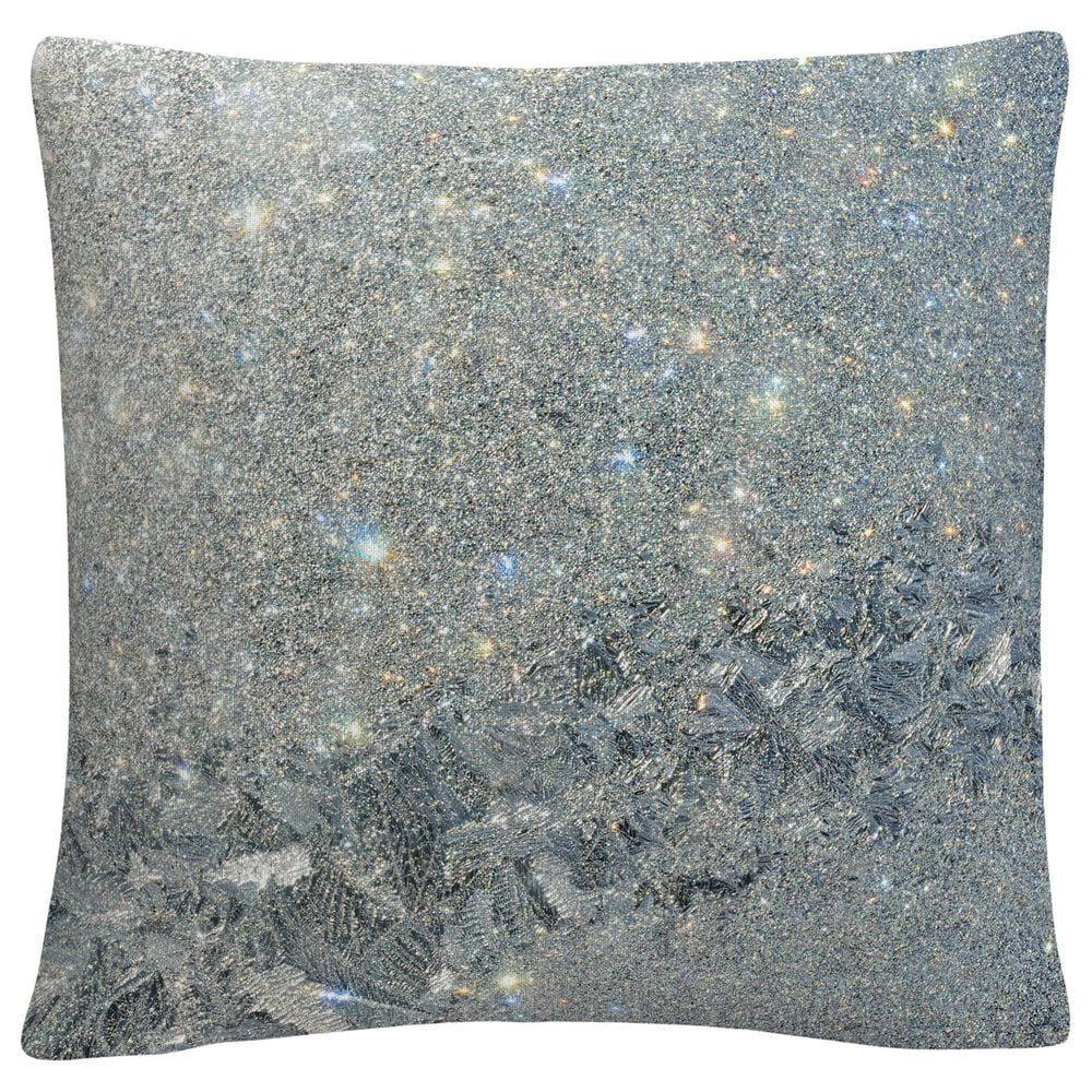 Timberlake Kurt Shaffer 'Frost Pattern Sun Stars' 16 x 16 Decorative Throw Pillow, , large