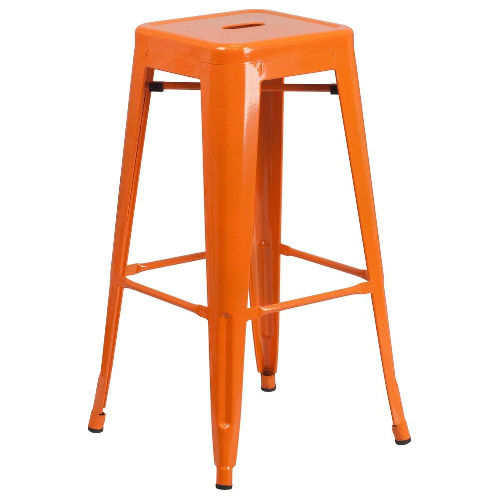 """Flash Furniture 30"""" Barstool in Orange, , large"""