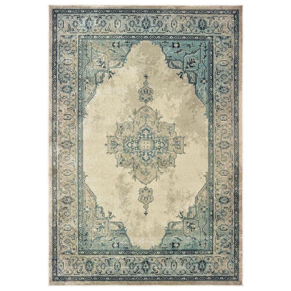 """Oriental Weavers Raleigh 2337W 2'3"""" x 7'6"""" Ivory Runner, , large"""