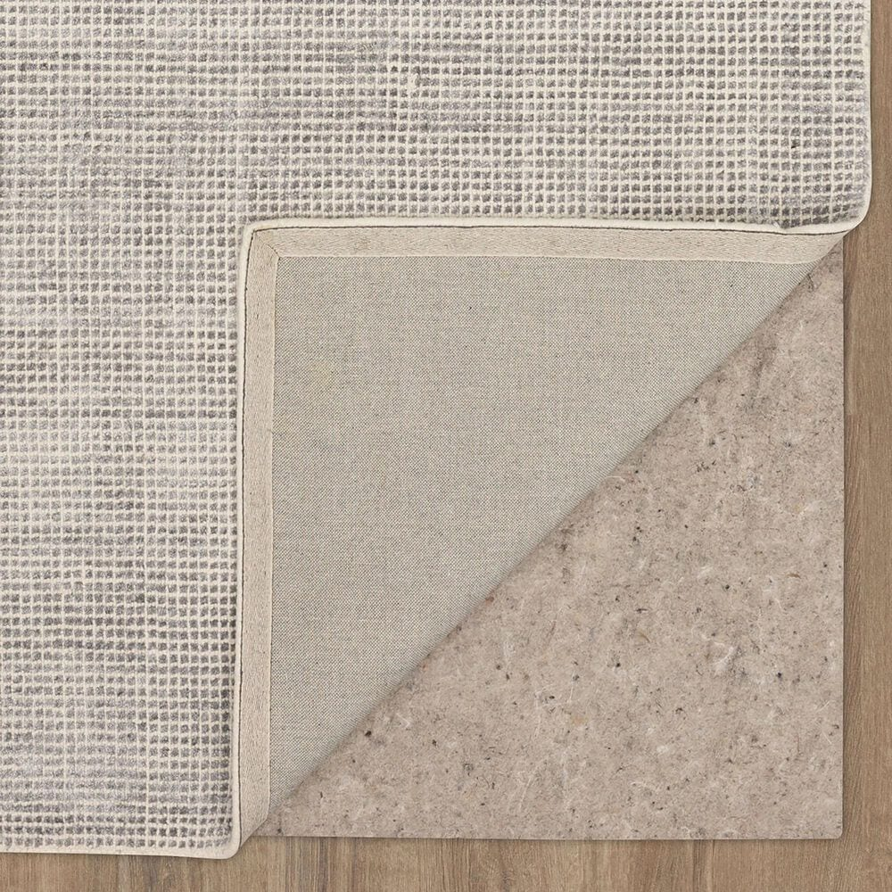Karastan Labyrinth RG176-945 5' x 8' Matrix Steel Grey Area Rug, , large
