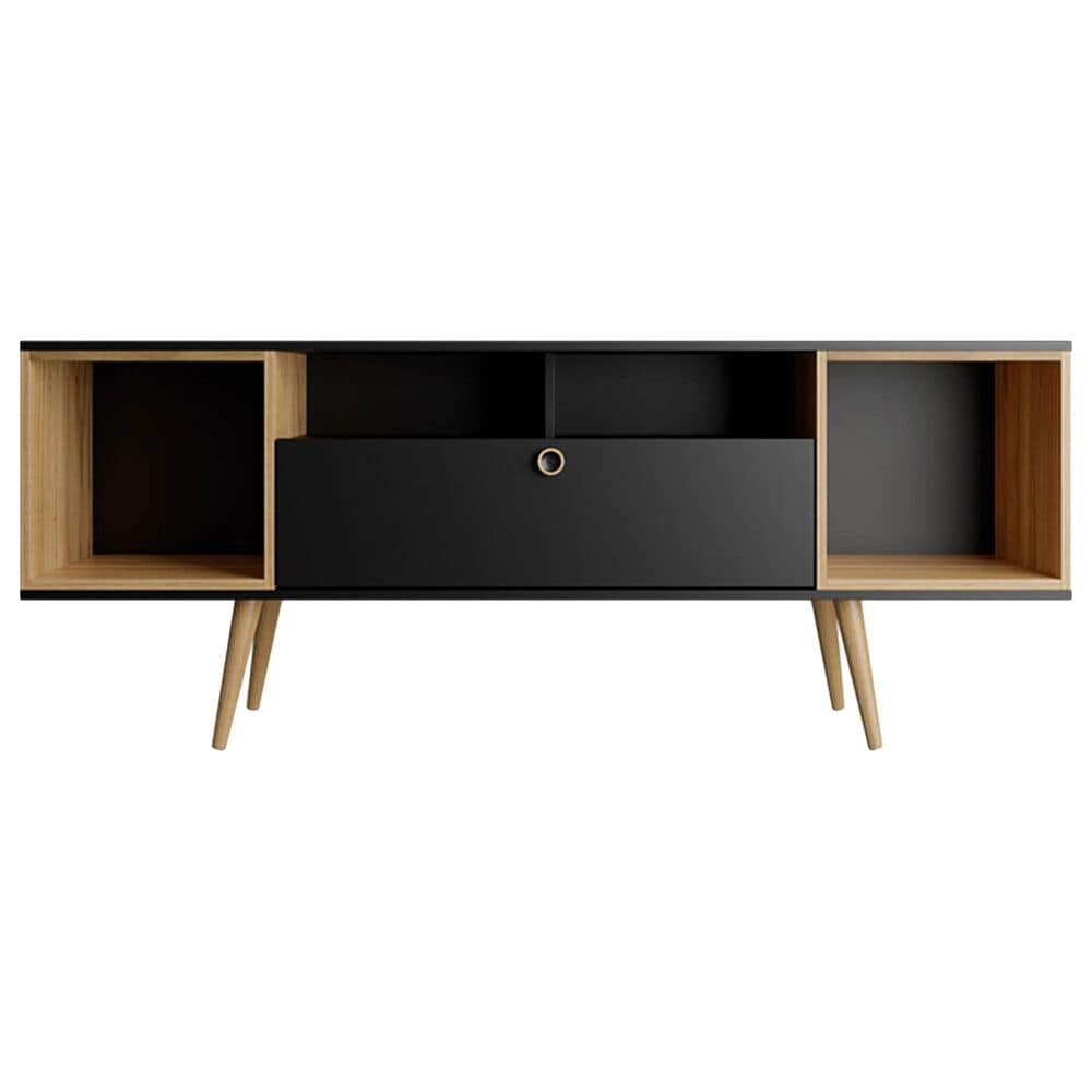 "Dayton Theodore 62.99"" TV Stand in Black/Cinnamon, , large"