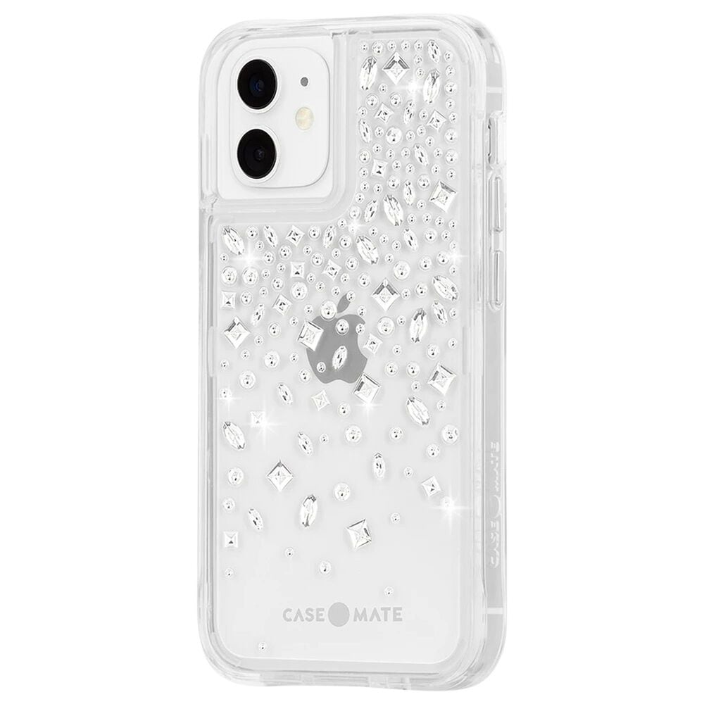 Case-Mate Gem Case For Apple iPhone 12 Mini in Karat Crystal, , large
