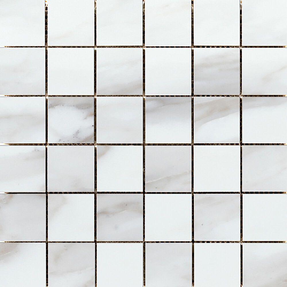 "Emser Swiss II Rhone 2"" x 2"" on 12"" x 12"" Polished Porcelain Mosaic Sheet, , large"
