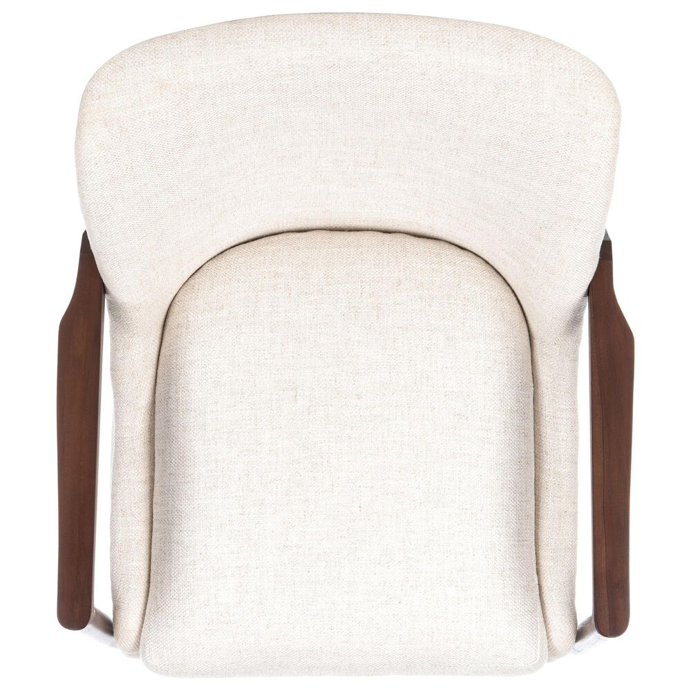 Safavieh Flannery Accent Chair in Cream, , large