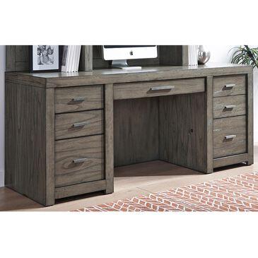 "Riva Ridge Modern Loft 72"" Credenza Desk in Greystone, , large"