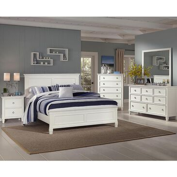 New Heritage Design Tamarack Full Panel Bed in White, , large