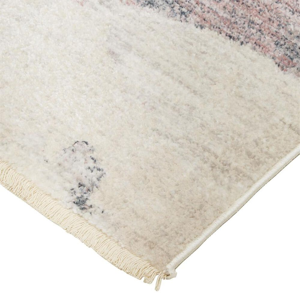 Feizy Rugs Kyra 5' x 7' Beige and Blue Area Rug, , large