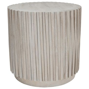 """Classic Concepts Mrytle 24"""" Round End Table in Mango Wood, , large"""